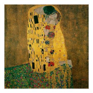 Poster Gustav Klimt le cru de GalleryHD de baiser