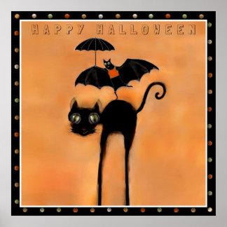 Poster Halloween heureux