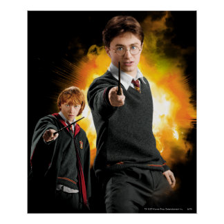 Poster Harry Potter et Ron Weasely