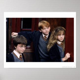 Poster Harry, Ron, et Hermione