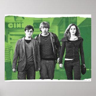 Poster Harry, Ron, et Hermione 1