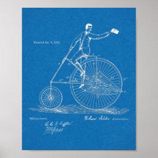 Poster Haute copie d'art de brevet de conception de