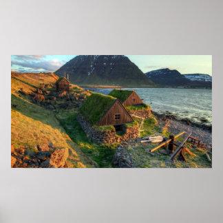 Poster HD Paysage Islande