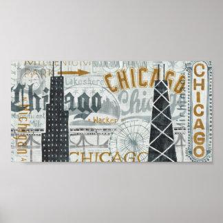 Poster Hé cru de Chicago