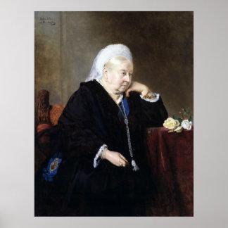 Poster Heinrich von Angeli Queen Victoria