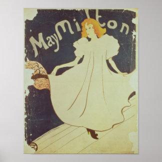 Poster Henri De Toulouse-Lautrec | mai Milton, France