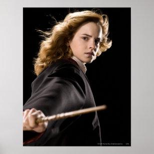 Poster Hermione Granger prêt pour l'action