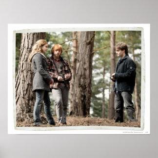 Poster Hermione, Ron, et Harry 2