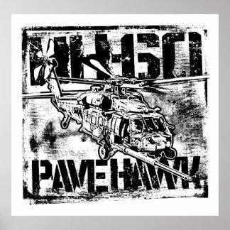 Poster HH-60 pavent l'affiche de POIDS de modèle
