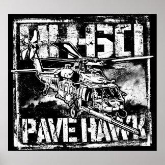 Poster HH-60 pavent l'affiche du modèle BK d'affiche de