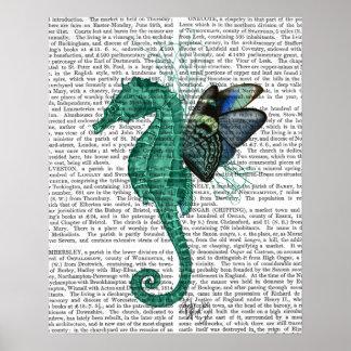 Poster Hippocampe à ailes