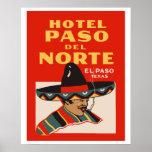 Poster Hotel Paso del Norte (El Paso - Texas)
