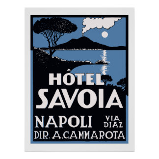 Poster Hôtel Savoia (Napoli)