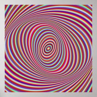 Poster Hypnose au néon