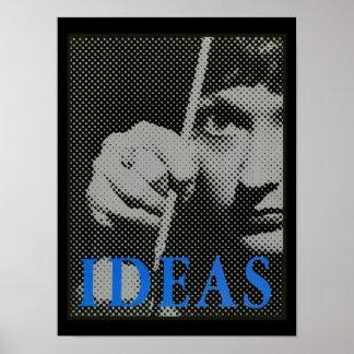 Poster Idées - graphique 1981 de promo
