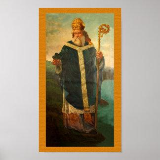 Poster Image de dévotion de St Patrick