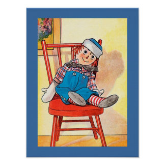 Poster Image RAGGEDY vintage d'ANDY