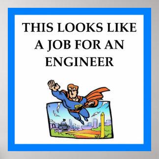 Poster ingénieur