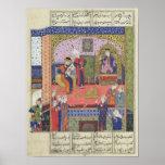 Poster Intérieur du roi du palais de Perse