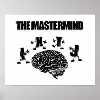 Poster INTJ - L'affiche de cerveau - image #1