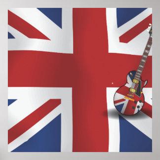 Poster Invasion britannique