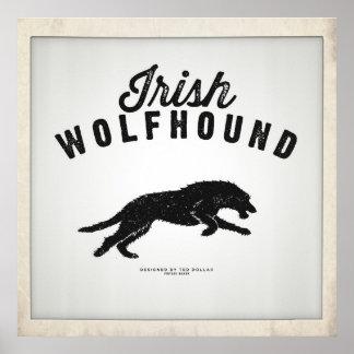 Poster Irish Wolfhound