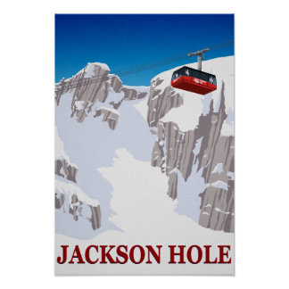 Poster Jackson Hole