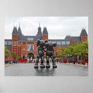 Poster J'aime Amsterdam