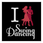 Poster J'aime la danse d'oscillation