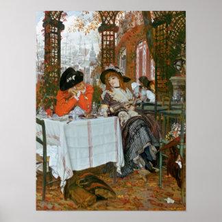 Poster James Jacques Joseph Tissot   un déjeuner