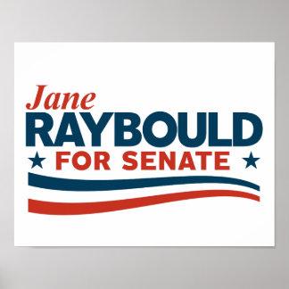 Poster Jane Raybould pour le sénat