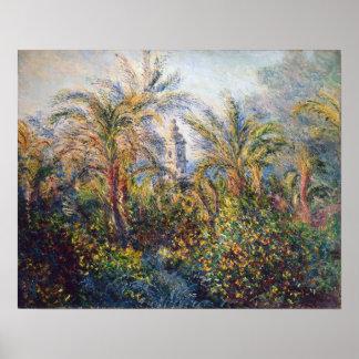 Poster Jardin de Claude Monet   dans Bordighera