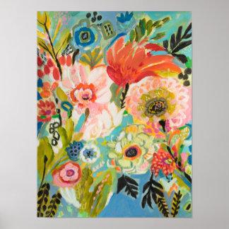 Poster Jardin secret III floral