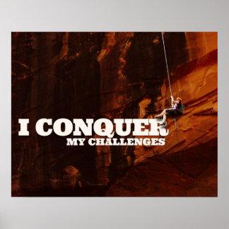 Poster Je conquiers mes défis