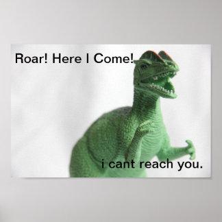 Poster Je viens ! Affiche de Dino