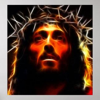 Poster Jésus-Christ le sauveur