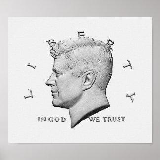 Poster JFK - dans Dieu nous faisons confiance