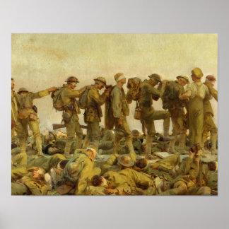 Poster John Singer Sargent - ivre