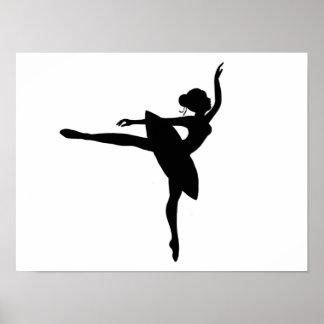 Poster Jolie copie de ballerine