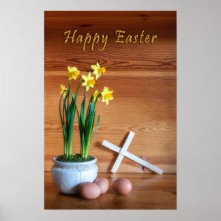 Poster Joyeuses Pâques