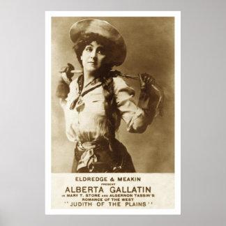 Poster Judith des plaines