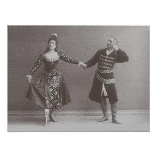 Poster Julia et Felix Kschessinsky dans le mazu