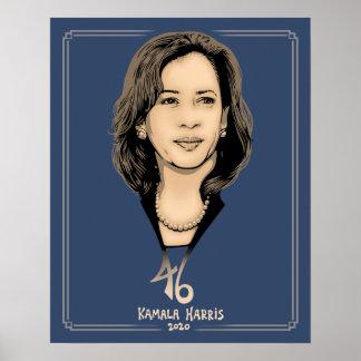Poster Kamala Harris 46