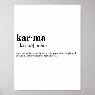 Poster Karma