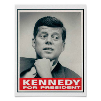 Poster Kennedy pour le président