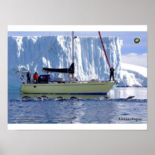 Poster Kim en Antarctique