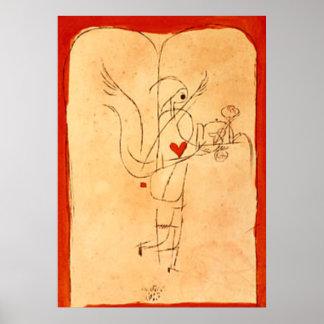 Poster Klee - un esprit sert un petit petit déjeuner