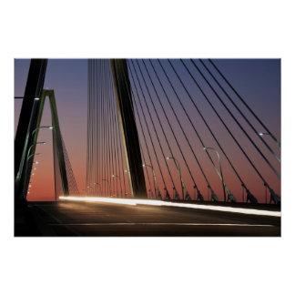 Poster La Caroline du Sud, pont de Jr. d'Arthur Ravenel