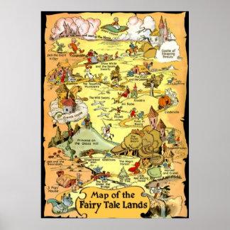 Poster La carte du conte de fées débarque (dans 23