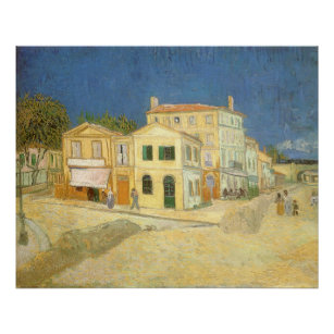 Poster La Chambre Jaune Par Vincent Van Gogh